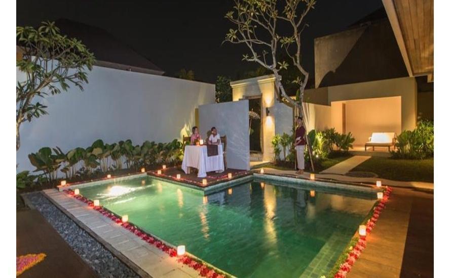 Anulekha Resort and Villa Bali - Makan Malam Romantis