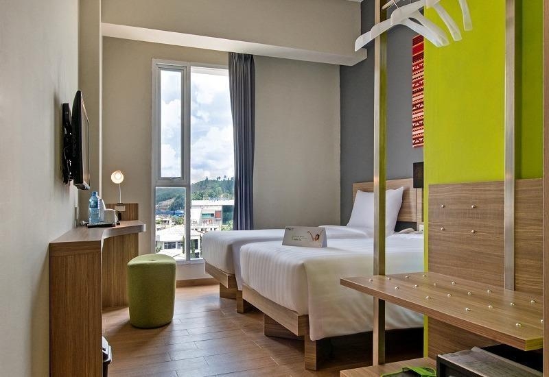 Whiz Prime Hotel Ahmad Yani Lampung - Superior Twin Room Only Regular Plan