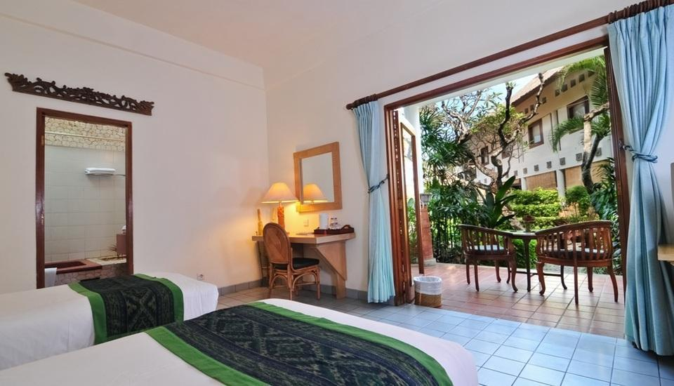 Sativa Sanur Cottages Hotel Bali - Deluxe Room - With Breakfast Regular Plan