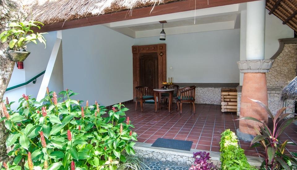 Sativa Sanur Cottages Hotel Bali - Balkon