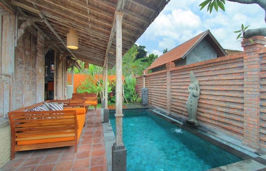 Suarti Boutique Village Bali - Kolam Renang