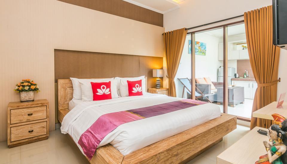 ZenRooms Denpasar Padang Mekar - Tempat tidur double
