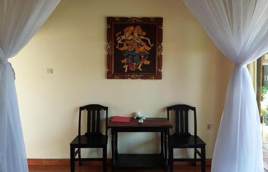 The Sari Bungalows Bali - Ruang tamu