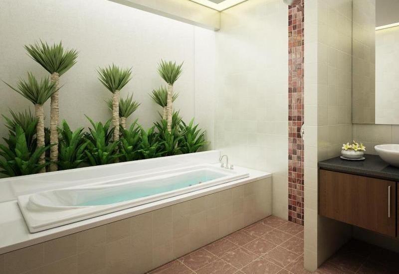 Arman Villas Seminyak - Kamar mandi