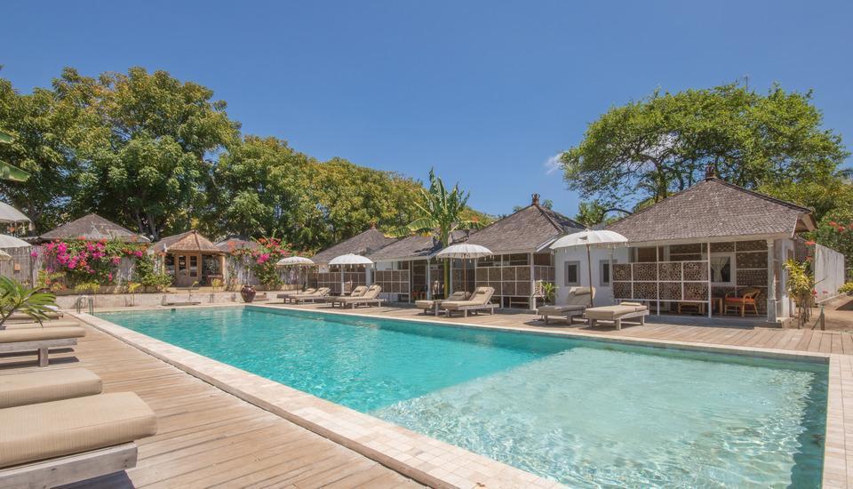 Les Villas Ottalia Gili Meno Lombok - Pool