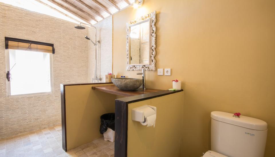 Les Villas Ottalia Gili Meno Lombok - Bathroom