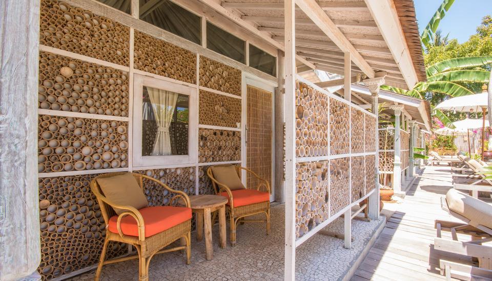 Les Villas Ottalia Gili Meno Lombok - Bungalow