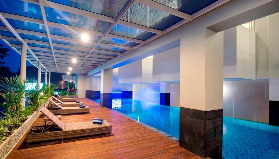 The Atrium Hotel and Resort Yogyakarta - Kolam Renang