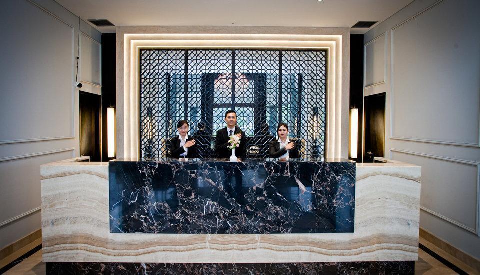Samala Hotel Jakarta, Cengkareng Jakarta - counter lobi