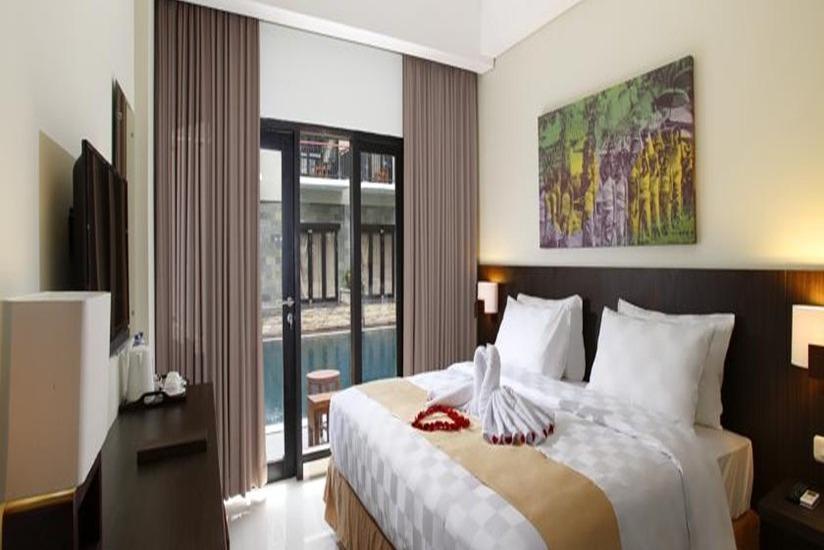 Hardys Rofa Hotel Legian - Kamar tamu