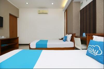 Airy Lengkong Buah Batu 81 Bandung - Deluxe Twin Room Only Special Promo Jan 28