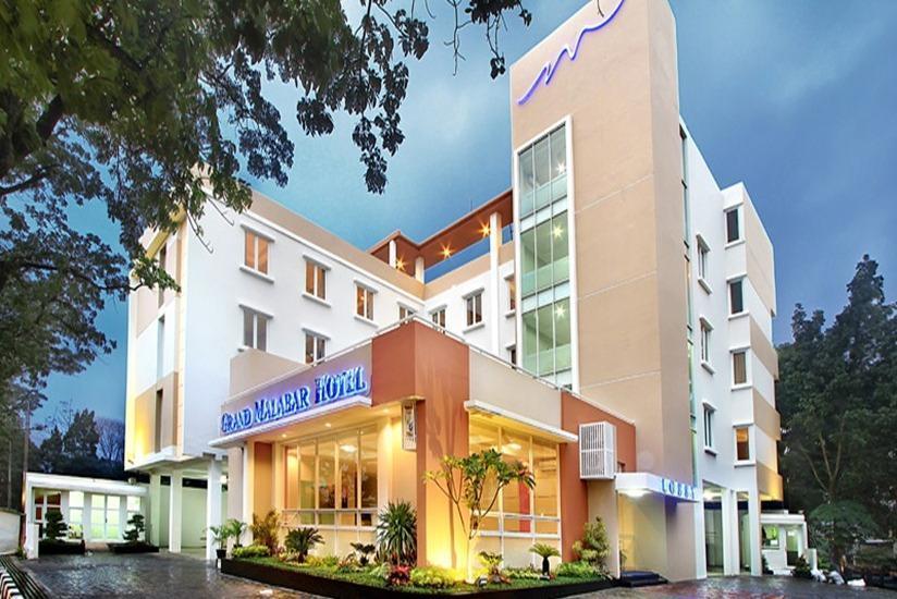 Grand Malabar Hotel Bandung - Tampilan Luar Hotel
