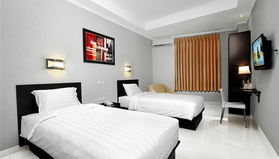 Grand Malabar Hotel Bandung - Deluxe Twin with Breakfast Regular Plan