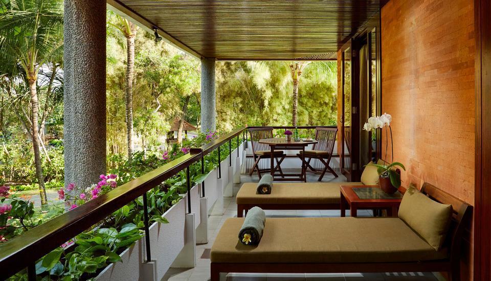 Melia Bali-Indonesia Bali - Deluxe suite terrace