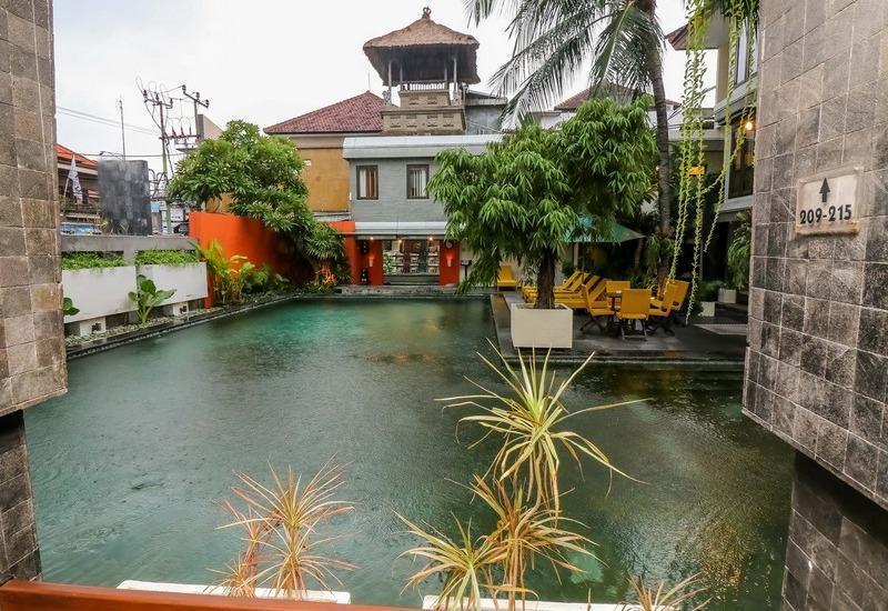 NIDA Rooms Padma Kuta Badung - Pemandangan Area