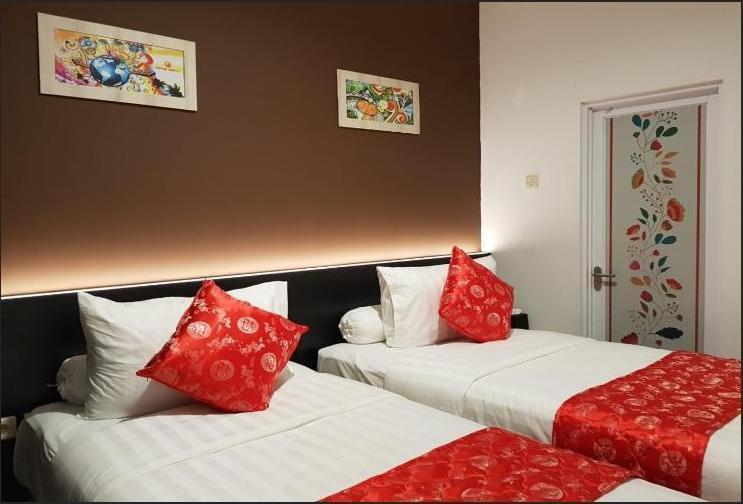 Fortune Front One Hotel Kendari Kendari - Superior Twin Room