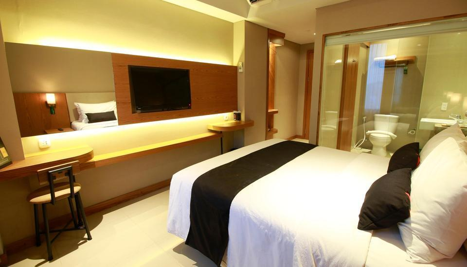 Yellow Star Ambarukmo Hotel Yogyakarta - Single Bed