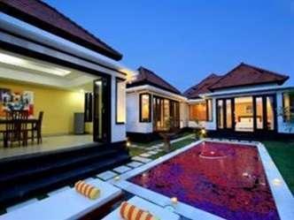Pande Villas Spa & Restaurant Bali - Pemandangan di luar