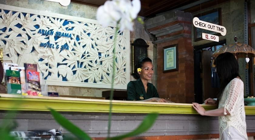 Abian Srama Hotel Bali - Resepsionis