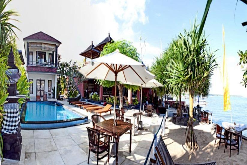 Tarci Bungalows Bali - Tampilan Luar Hotel