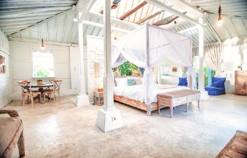 SooBali Atap Putih Seminyak - Kamar tidur