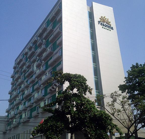 Pesonna Hotel Makassar - Bangunan
