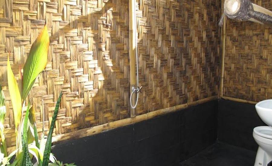 Rinjani Beach Eco Resort Lombok - Kamar mandi
