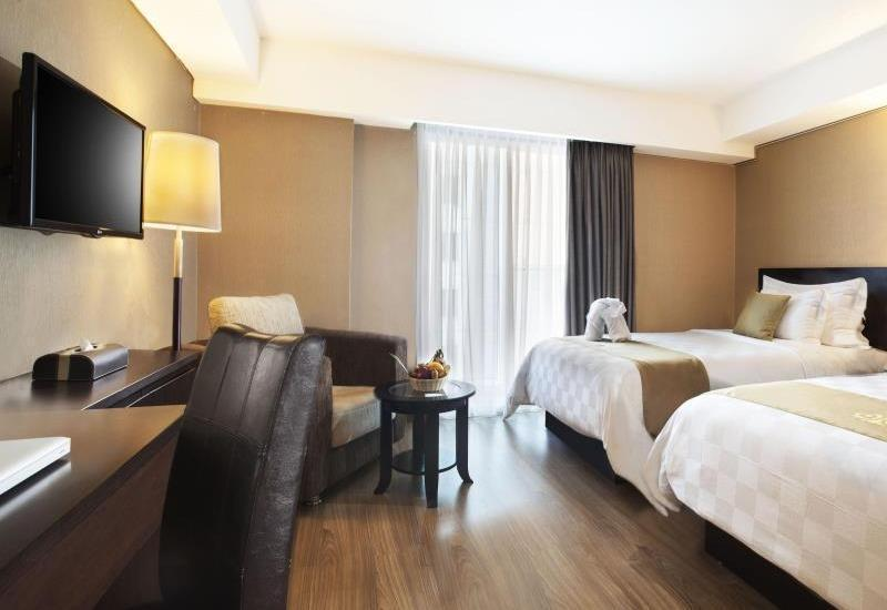 Best Western Premier The Hive   - Deluxe Twin Room Only LUXURY - Pegipegi Promotion
