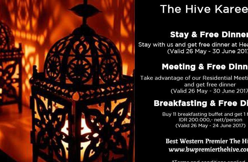 Best Western Premier The Hive   - Ramadhan promo 2017