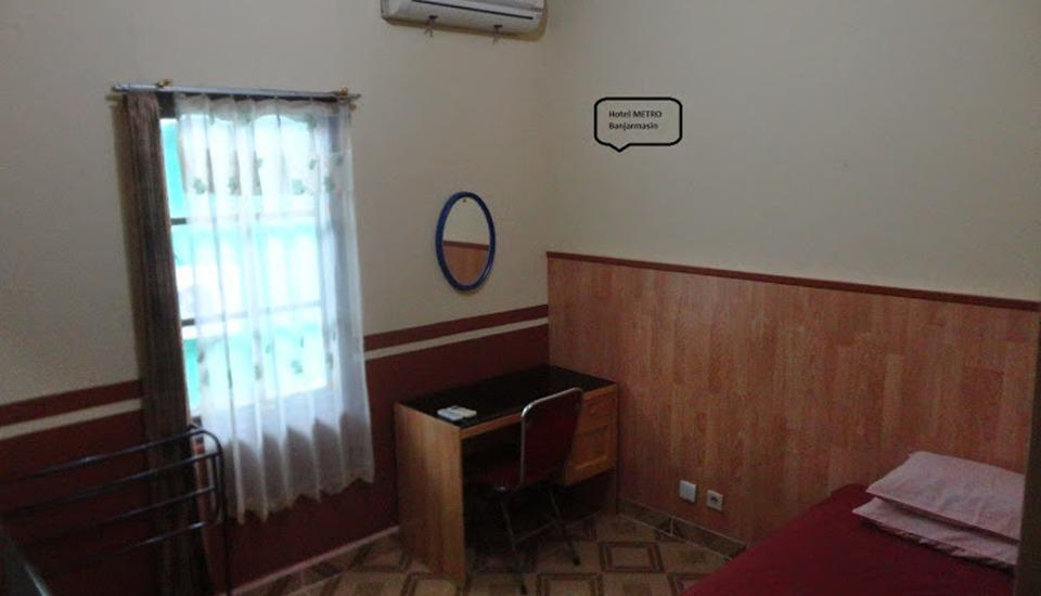 Hotel Metro Banjarmasin - Kamar Standard Single - Hanya Kamar Regular Plan