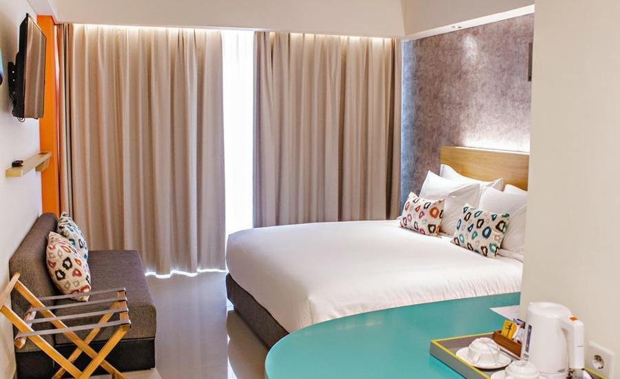 Tijili Benoa Bali - Deluxe Courtyard Balcony Inclusive Breakfast Promo Special Dec Diskon 25%