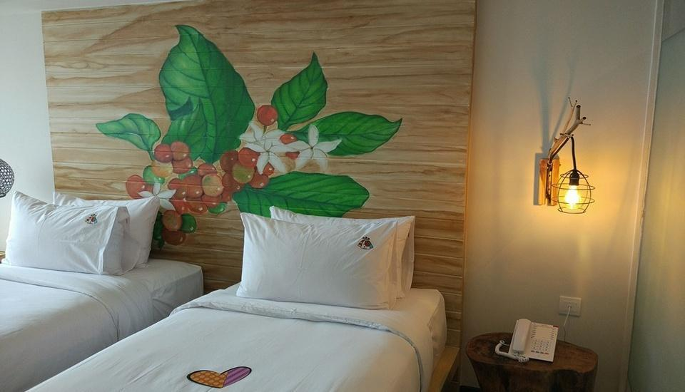 MaxOneHotels at Ubud Bali - Happiness Room Only Regular Plan