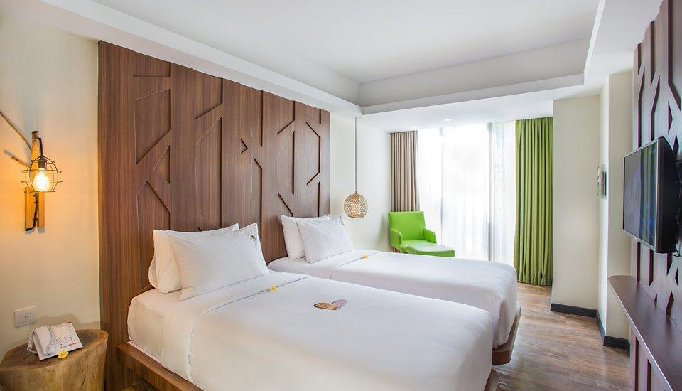 MaxOneHotels at Ubud Bali - Max Happiness Twin