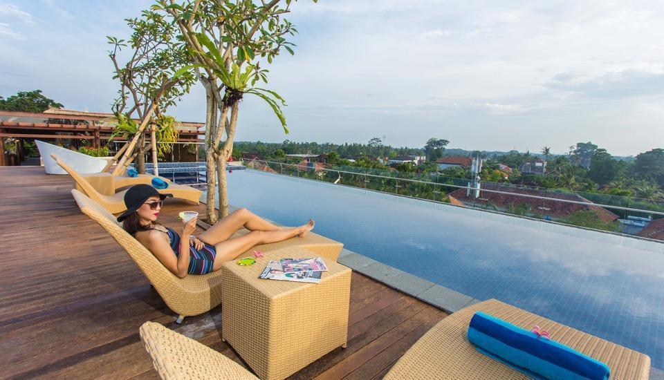 MaxOneHotels at Ubud Bali - pool