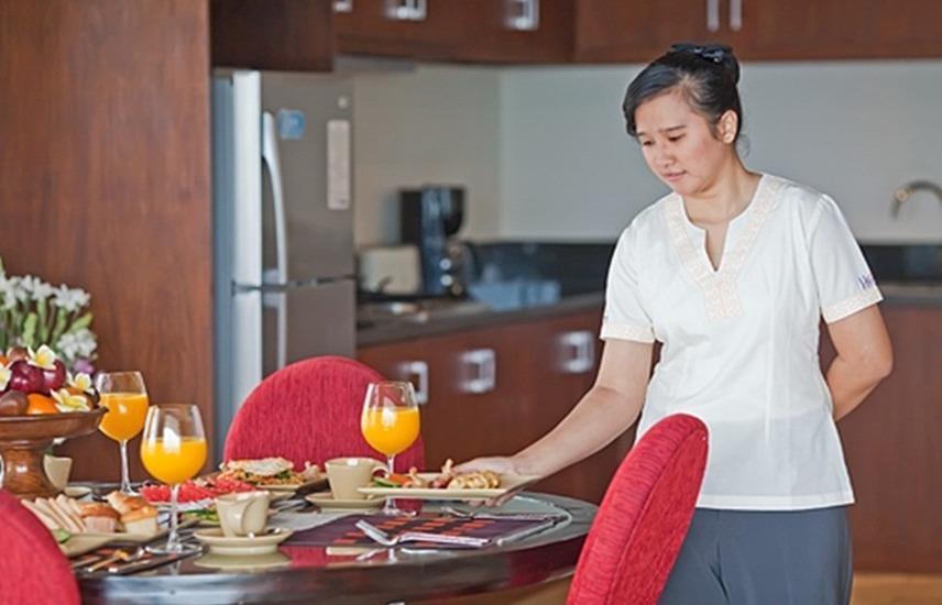 The Segara Suite Bali - Meja Makan