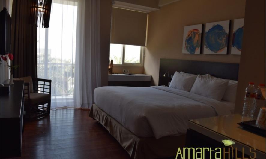 Amartahills Hotel and Resort Batu Malang - Kamar Deluxe dengan tempat tidur queen