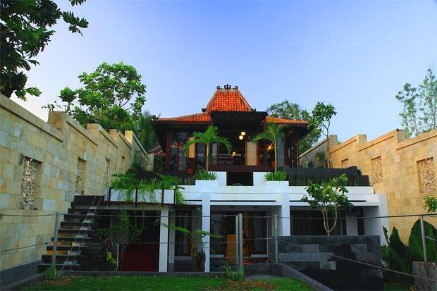 Villa Alcheringa Yogyakarta - Tampilan Luar
