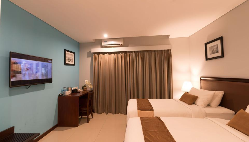 Kutabex Hotel Bali - Deluxe Room - Twin Bed