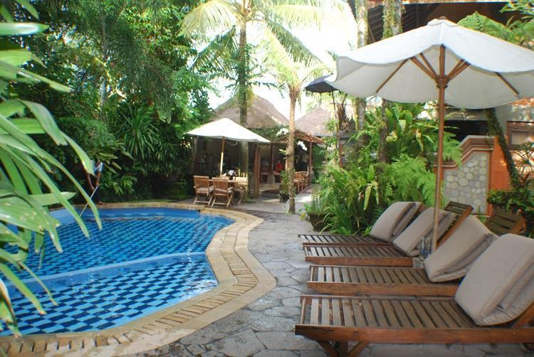 Adi Cottages Ubud - Kolam Renang