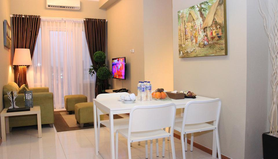 Best Western Plus Kemayoran Hotel Jakarta - Living & Dinning Room on 3 BEDROOM BUSINESS