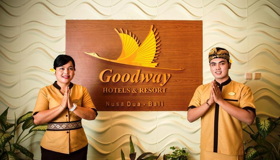 Goodway Hotels & Resort Bali - Resepsionis