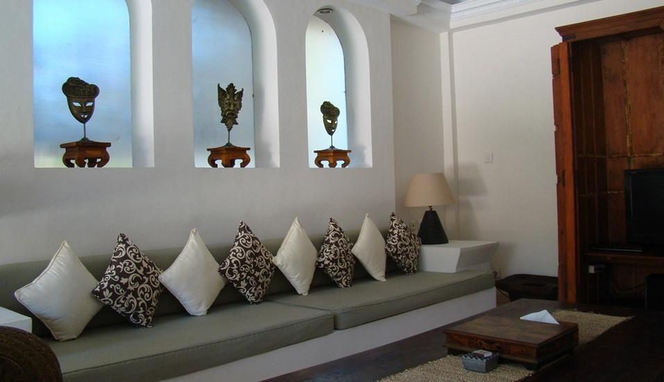 Villa Coco Bali - lounge TV 4 bed