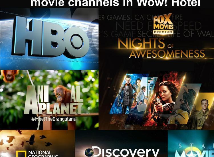 Wow Hotel Jakarta - Premium Movie Channels