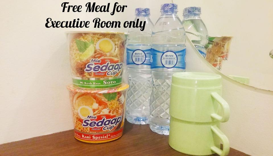 Wow Hotel Jakarta - Makanan Gratis untuk kamar Executive