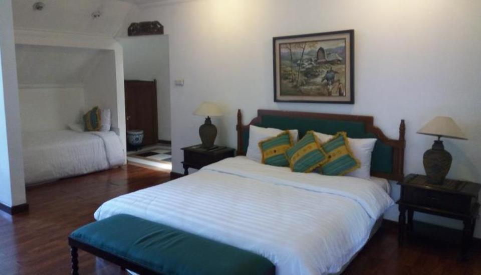 Lombok Ethnic Hotel Bandung Bandung - Kamar tamu