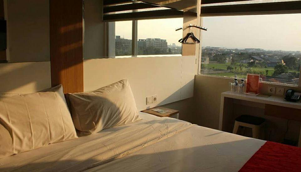 Brothers Inn Babarsari Jogja - pemandangan dari kamar