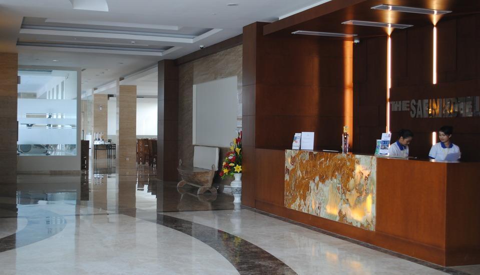 Hotel Safin Pati Pati - MEJA DEPAN