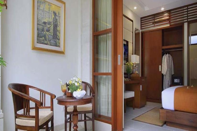 Tebesaya Cottage Bali - Teras