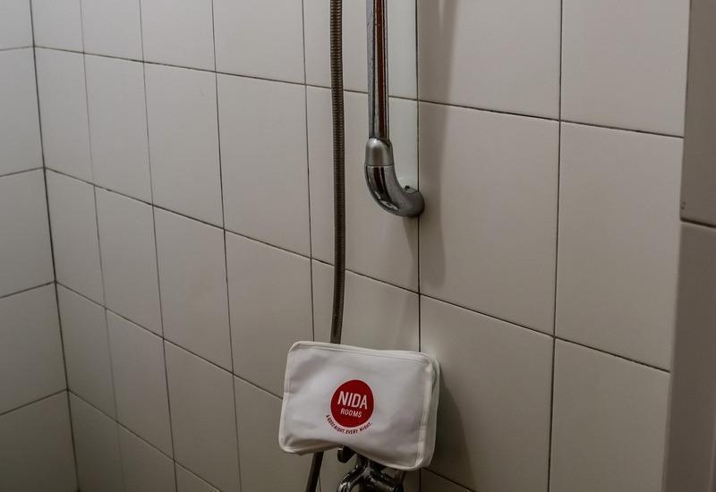 NIDA Rooms Muara 16 Polonia - Kamar mandi