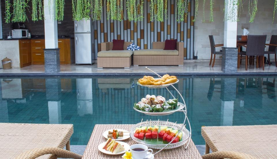 Kunti Villas Seminyak - Afternoon tea